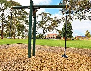 Hamilton Park Reserve Playground Pommel Seesaw 1