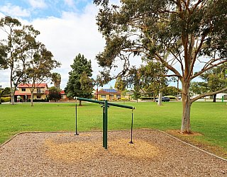 Hamilton Park Reserve Playground Pommel Seesaw 2