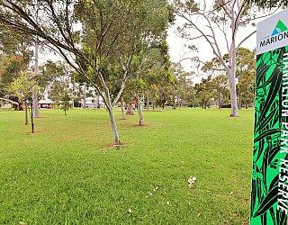 Hamilton Park Reserve Sign 1