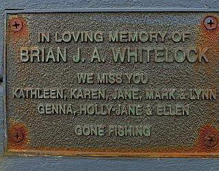 Heron Way Reserve Memorial Brian Whitelock 1