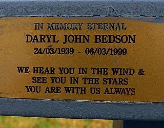 Heron Way Reserve Memorial Daryl Bedson 1