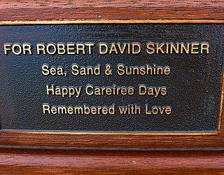 Heron Way Reserve Memorial Robert Skinner 1