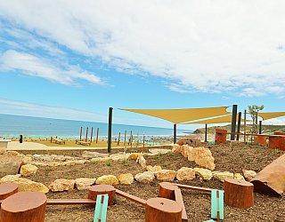 Heron Way Reserve Playground Nature Play Balance 2