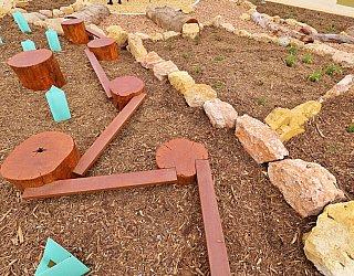 Heron Way Reserve Playground Nature Play Balance 4