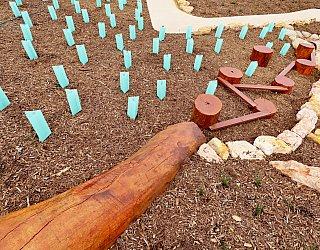 Heron Way Reserve Playground Nature Play Balance 5