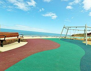 Heron Way Reserve Playground Swing 1