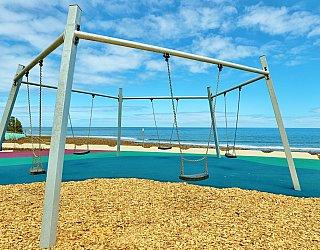 Heron Way Reserve Playground Swing 2