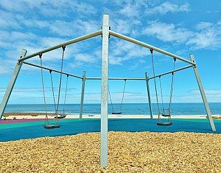 Heron Way Reserve Playground Swing 3