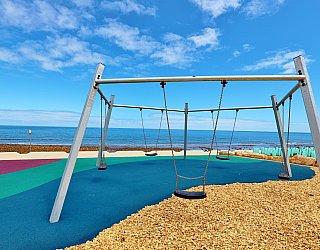Heron Way Reserve Playground Swing 4