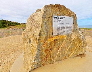 Heron Way Reserve Tjilbruke Dreaming Track Sign 1
