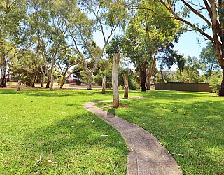Maldon Avenue Reserve Playground Obscacle Sticks 1