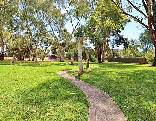 Maldon Avenue Reserve Playground Obscacle Sticks 1
