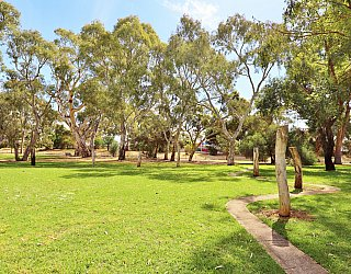 Maldon Avenue Reserve Playground Obscacle Sticks 2