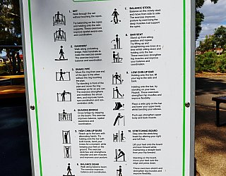 Maldon Avenue Reserve Sport Intergenrational Playground Sign 1 Copy