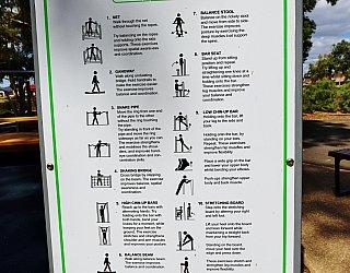 Maldon Avenue Reserve Sport Intergenrational Playground Sign 1 Copy