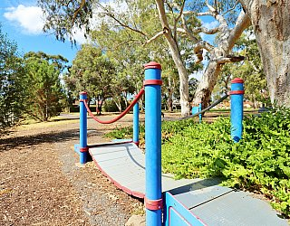 Maldon Avenue Reserve Sturt River Linear Park Bicycle Bridge 1