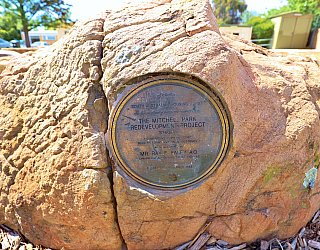 Penrith Court Reserve Plaque Mitchell Park Redevelopment Project 1988 1