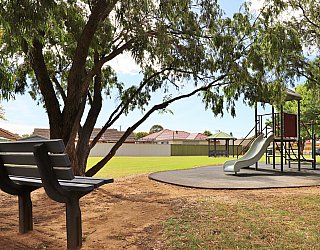 Peterson Avenue Reserve Facilities Seat 1