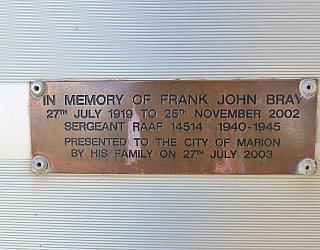 Tarturninthi Memorial Frank Bray 1