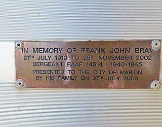 Tarturninthi Memorial Frank Bray 1