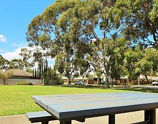 Tilley Court Reserve Facilities Picnic 1