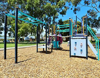 Tilley Court Reserve Playground Multistation 3
