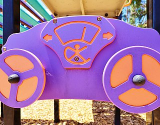 Tilley Court Reserve Playground Multistation Steering Wheels 1