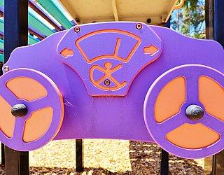 Tilley Court Reserve Playground Multistation Steering Wheels 1
