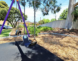 Tilley Court Reserve Playground Swing 2