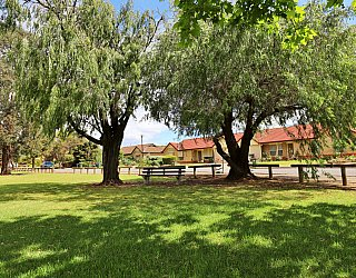 Trowbridge Avenue Reserve Facilities Seat 1