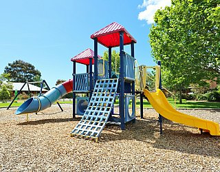 Trowbridge Avenue Reserve Playground Multistation 4