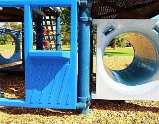 Trowbridge Avenue Reserve Playground Multistation Tunnel 1