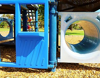 Trowbridge Avenue Reserve Playground Multistation Tunnel 1