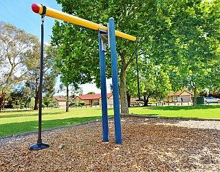 Trowbridge Avenue Reserve Playground Pommel Seesaw 1