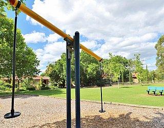 Trowbridge Avenue Reserve Playground Pommel Seesaw 2