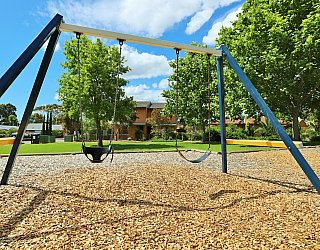 Trowbridge Avenue Reserve Playground Swing 1