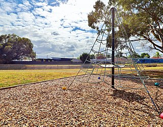 Willoughby Avenue Reserve Playground Climbing Net 1