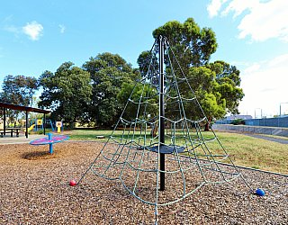 Willoughby Avenue Reserve Playground Climbing Net 2