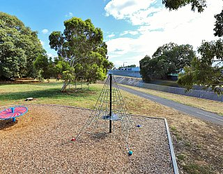 Willoughby Avenue Reserve Playground Climbing Net 3