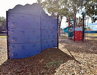 Willoughby Avenue Reserve Playground Climbing Wall 1