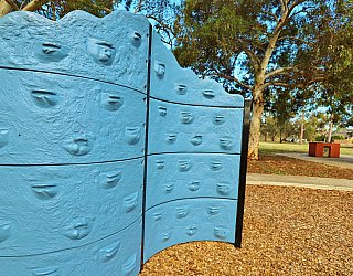 Willoughby Avenue Reserve Playground Climbing Wall 2