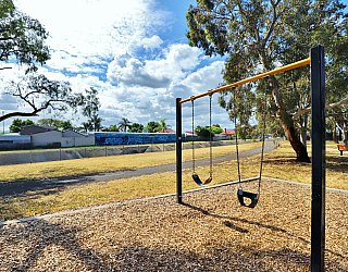 Willoughby Avenue Reserve Playground Swing 1