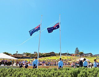 Heron Way Reserve Remembrance Day 2018 1