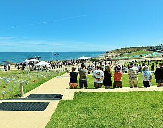 Heron Way Reserve Remembrance Day 2018 2