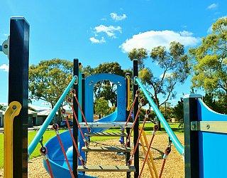 Alison Avenue Reserve Playground Multistation Bridge 1