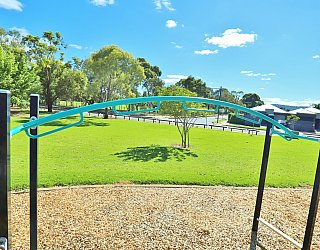 Alison Avenue Reserve Playground Multistation Monkey Bars 1