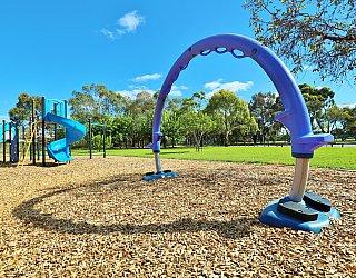 Alison Avenue Reserve Playground Pogo Arch 1