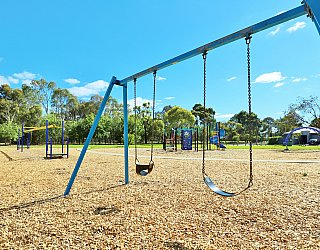 Alison Avenue Reserve Playground Swings 1