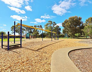 Alison Avenue Reserve Playground Winding Track 1