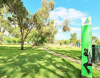 Alison Avenue Reserve Sign 1